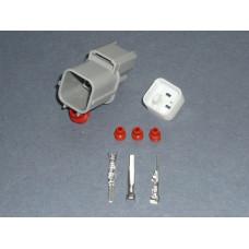 HW 3 way Tri pin connector plug