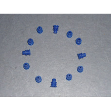 Blue connector seal
