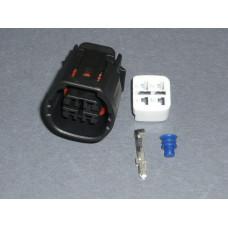 TS 4 way pin connector socket